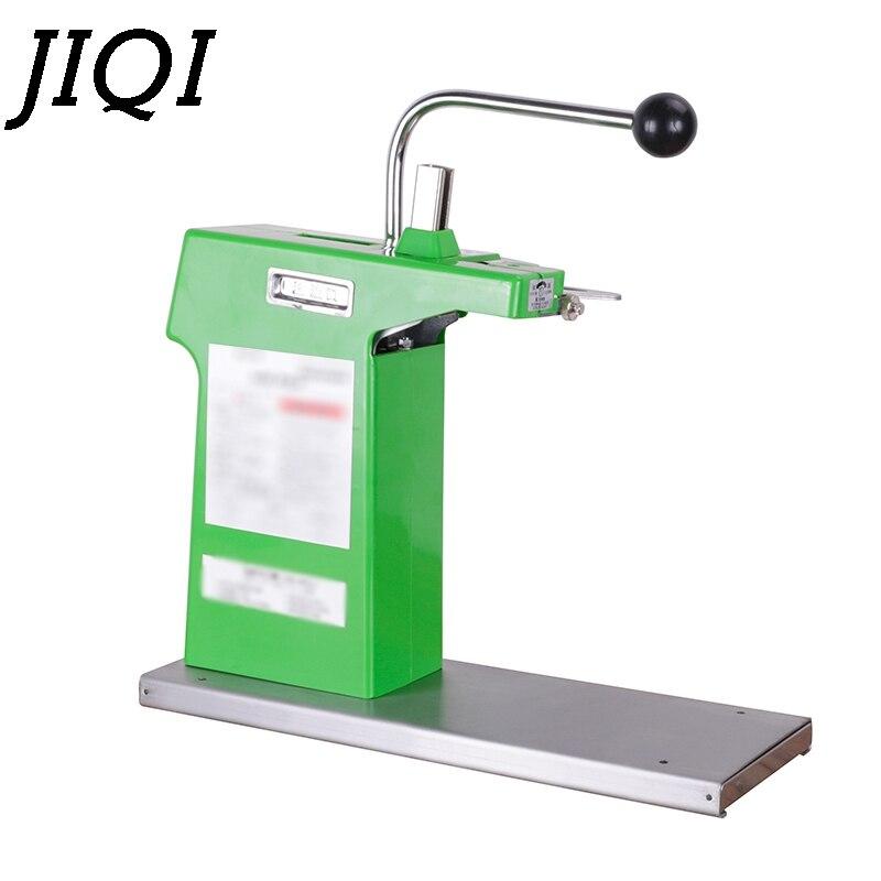 JIQI U-shape Sausage Clipper Food Clipping maker manual tying packer Plastic Bags packing machine Supermarket Tightening sealer
