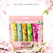 Plant Extract Fragrance Hand Cream 5 pcs Set