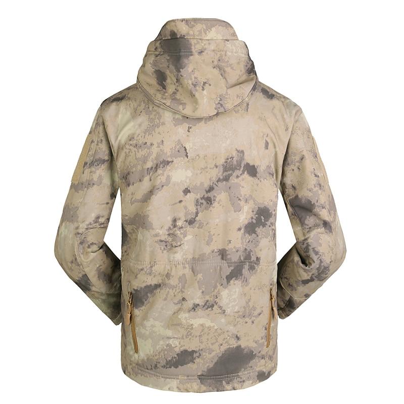 camuflagem com capuz esportes térmicas à prova