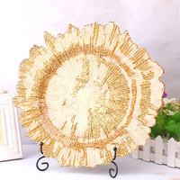 Exquisite and colorful Snowflake shape Glass fruit plate Western style cake plate Creative Home Dishes storage tray
