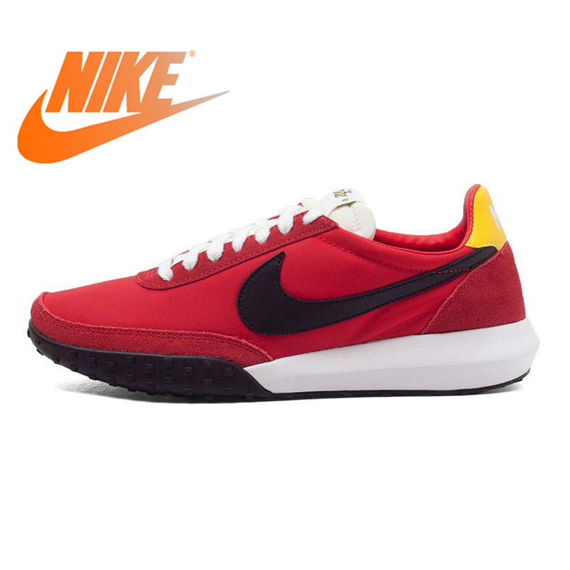 Official Original NIKE ROSHE WAFFLE RACER NM Mens Running Shoes Sneakers Red Sport Outdoor Walking Jogging Sneakers comfortableOfficial Original NIKE ROSHE WAFFLE RACER NM Mens Running Shoes Sneakers Red Sport Outdoor Walking Jogging Sneakers comfortable