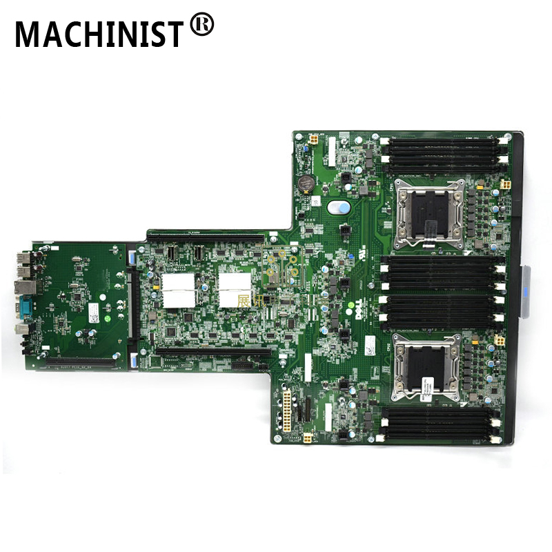 Original For Dell R7610 Dual server Desktop motherboard MB X79 LGA 2011 <font><b>C602</b></font> 0MGYR2 0W2R38 100% fully Tested Free shipping image