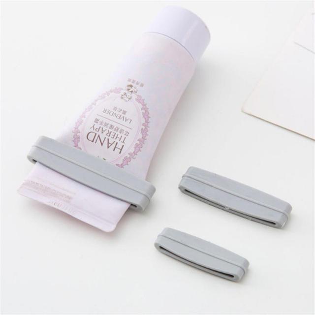 3 PCs/set Multifunction Cream Tube Squeezer Manual Toothpaste Dispenser Bathroom Squeeze Paste Squeezing Clamp Extruding Clip