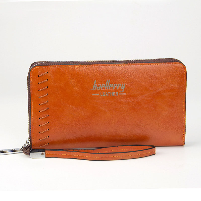 Topdudes.com - Casual Fashion Long PU Leather Wallets with Coin Clutch Card Holders