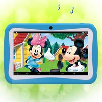 BDF Favorites Gifts For Kids Tablet 7 Inch Kids Tablets Pc WiFi Quad Core Dual Camera