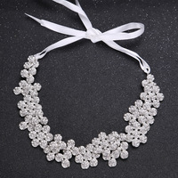 Wedding Fashion Diamond Alloy With Wholesale Flower Modelling The Bride Wedding Accessories With The Manufacturer