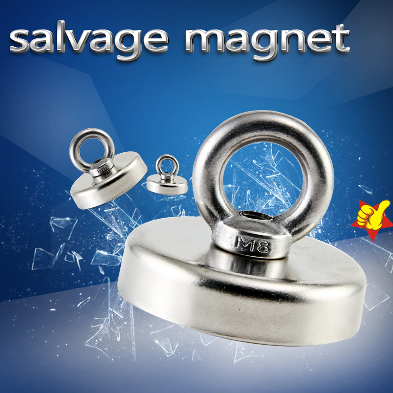 salvage magnets pot magnets permanent Neodymium deep sea salvage fishing hook magnet all size Pulling Mounting home holder