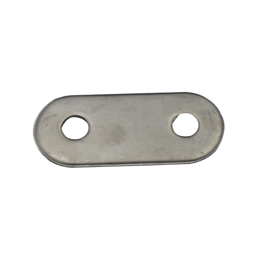 Stainless Steel 57x16mm Corner Brackets 1.8mm Thickness Straight Flat Bracket for Furniture Corner Protector Furniture Fittings