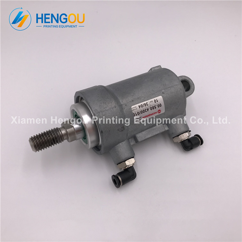 2 Pieces Heidelberg pneumatic cylinder D40 H25 00.580.4300 Heidelberg PM74 SM74 SM52 machine parts 2 pieces festo cylinder valve for pm74 sm74 heidelberg 61 184 1131