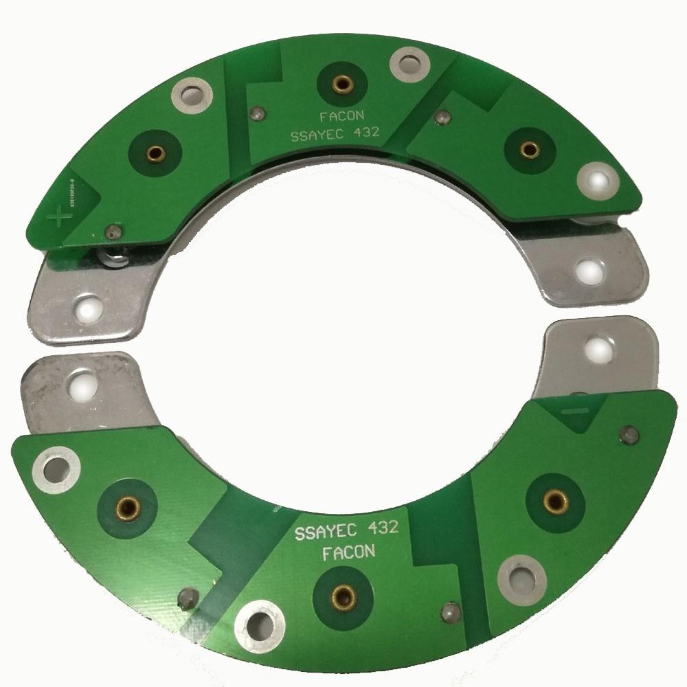 все цены на  Free Shipping Facon Rectification Matrix Generator Parts & Accessories for LSA Serial of LEROY SOMER Generators SSAYEC432  онлайн