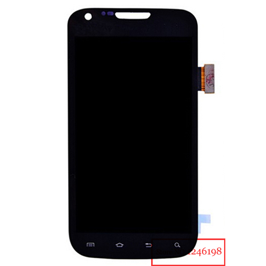 TOP Quality Black Full LCD Display Touch Screen Digitizer Assembly For Samsung Galaxy S2 II T989 Free shipping