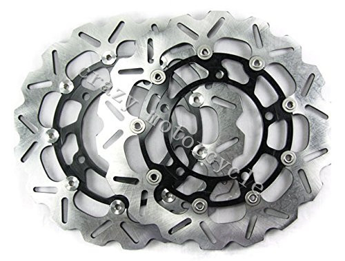 Free shipping moto Brake Rotor Disc For SUZUKI GSX650F 08-11 GSR750 2011 GSF1200 BANDIT 06-11 GSX1250 FA 10-11 B-KING 1300 08-10 310mm motorcycle front wavy floating brake disc rotor for suzuki gsf bandit 1250 07 15 gsx1250 10 15 b king 1300 08 11 gsx1300