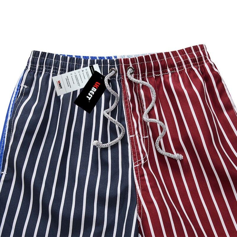 LKBEST pantalones cortos de moda para hombre de rayas de secado - Ropa de hombre - foto 3