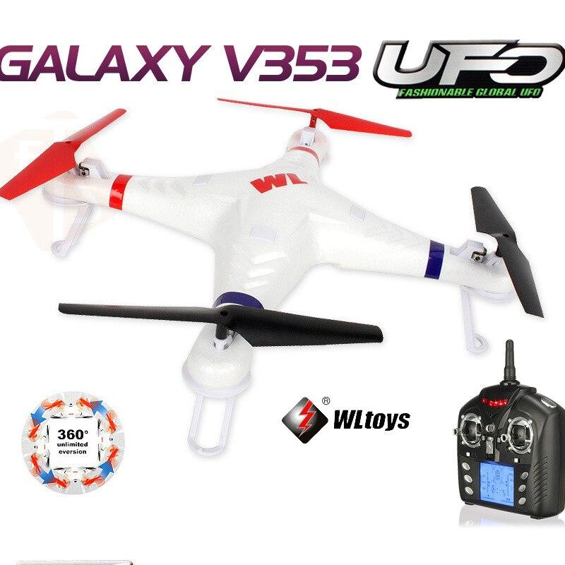 WLtoys V353 Galaxy 2.4G 4CH 6 Axis Gyro Headless Drone RC Quadcopter VS Zero Explorer Walk