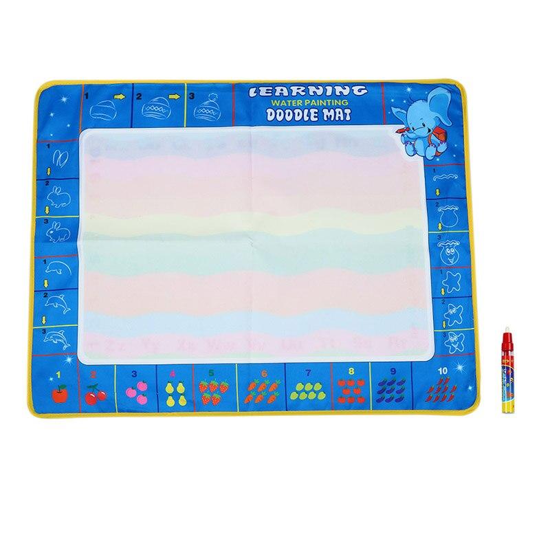 FBIL-46 * 30*2 см нетоксичные доска для рисования воды Мат Рисунок с Волшебное перо доска для рисования и записи каракули для маленьких детей Drawin