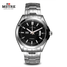 Brand Classic Fashion Business Watch Men s Automatical 316L Stainless Steel Wrist watches Sapphire Flywheel Dual