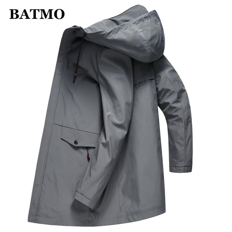 Plus size 5XL 6XL 7XL 8XL softshell dos homens da marca do revestimento do revestimento à prova d' água roupas com capuz preto casaco de primavera ocasional masculino blusão - 3