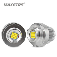 2x High Power 80W LED Marker Angel Eye Halo Ring Bulb For BMW E60 E61 LCI 2007 2010 Year LED Trim White Canbus Error Free