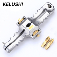 KELUSHI Optic Fiber Stripper /Longitudinal Opening Knife /Sheath Cable Slitter SI 01 for FTTH,Free Shipping