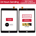 Original 9.7 inch TESTED Sensor Touchscreen For SAMSUNG Galaxy Tab A 9.7 T551 T555 T550 Touch Screen Digitizer Free Adhesive