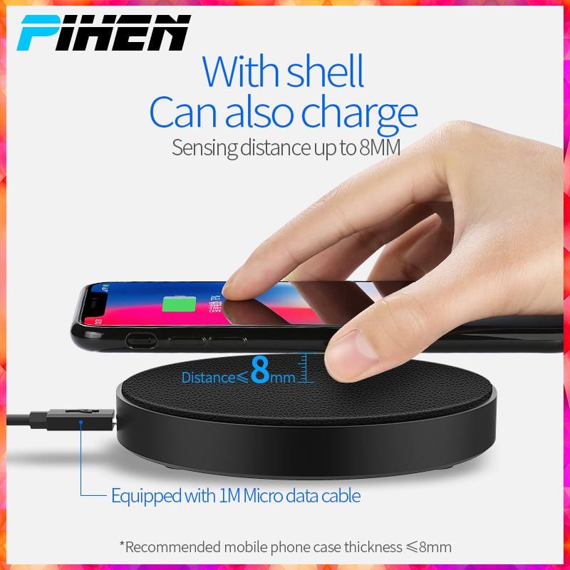MüHsam Qi Telefon Drahtlose Ladegerät Für Iphone X/xs Max Xr 8 Plus Telefon Halter Drahtlose Lade Pad Für Samsung S8 S9 Xiao Mi Mi 9 Handy-zubehör Kabellose Ladegeräte