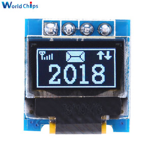 """Image 1 - diymore White 0.49 inch OLED Display Module 64x32 SSD1306 0.49"""" Screen I2C IIC Super Bright for Arduino AVR STM32"""