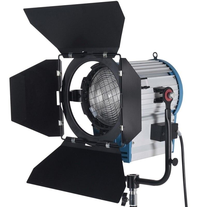 Video Equipment 2000W Fresnel Tungsten Light Spotlight Lighting for Studio soft Video light+Bulb+Barndor camera цены онлайн