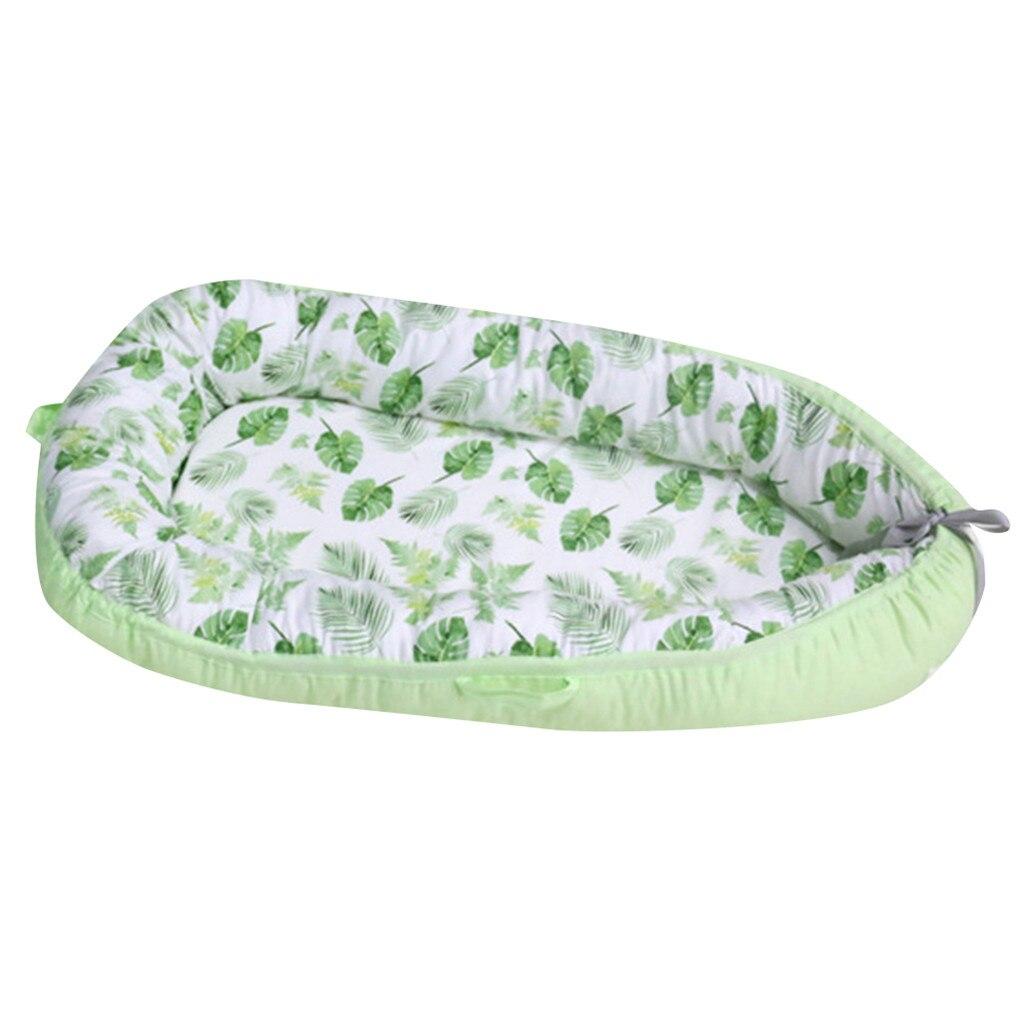 LONSANT bébé nid lit berceau Portable amovible et lavable lit de voyage pour enfants bébé enfants berceau en coton N30