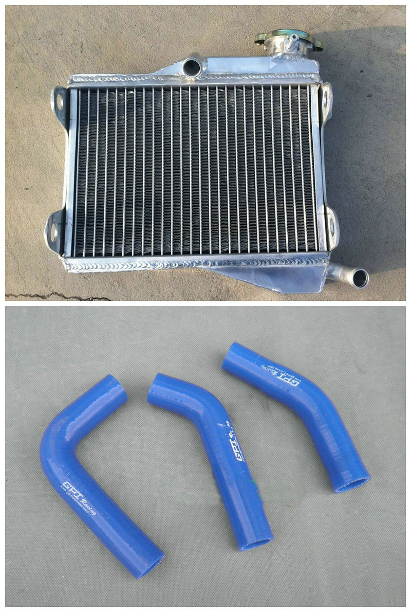 Remplacement Radiateur en Aluminium pour YAMAHA RD250 RD 250 RD350 LC 4L0 4L1 UK navire