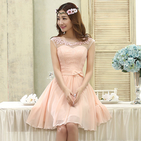 Prom Dresses 2017 New Arrival Pink For Women Elegant Fashion A Line Korean Style Cute Sexy