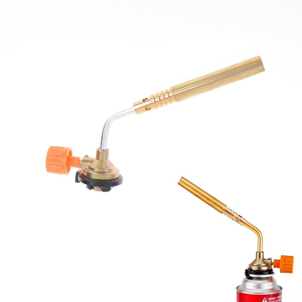 DAS бутан горелки воздуходувки сварки на открытом воздухе кемпинга Flame Gun ДЛЯ Кухня Аэрограф барбекю пайки газовая зажигалка высокое качеств... ...
