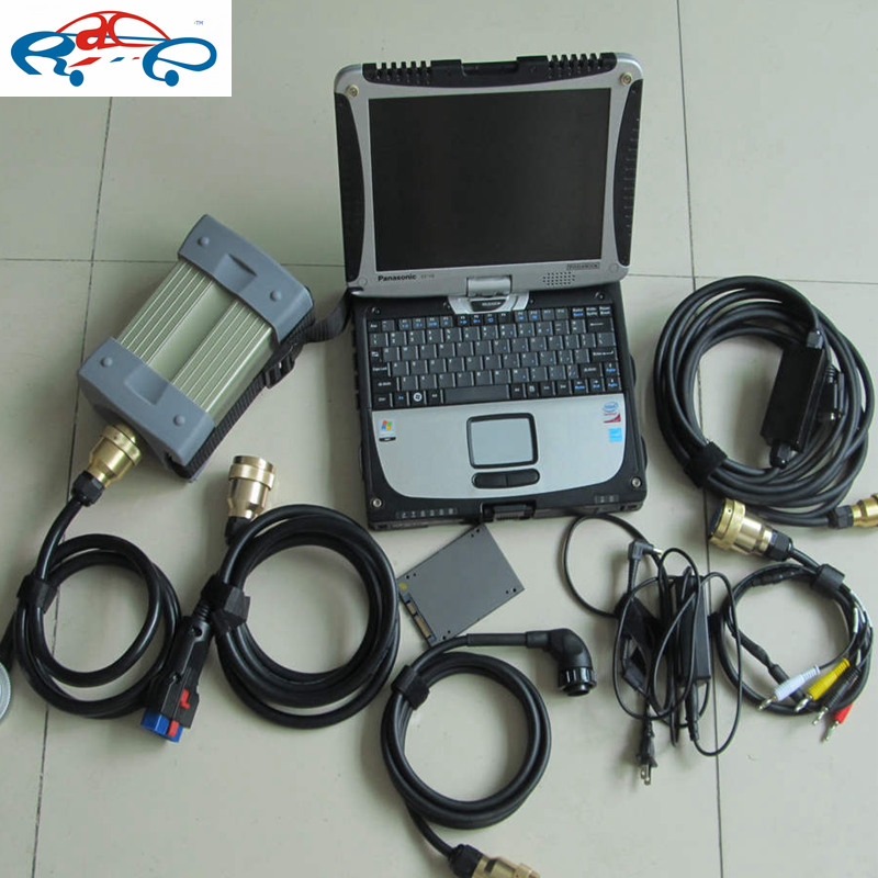 2017 For MB Sstar Diagnostic Tool mb star c3 multiplexer with software 12/2014 in faster ...