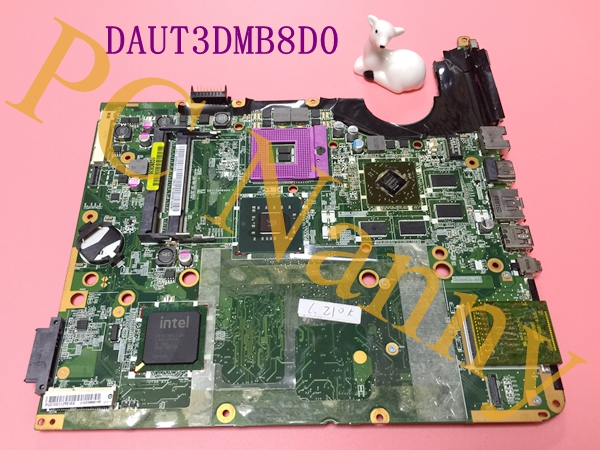 FOR HP Pavilion DV6-1000 Series Intel Motherboard 518431-001 DAUT3DMB8D0 + Free CPU Fully working