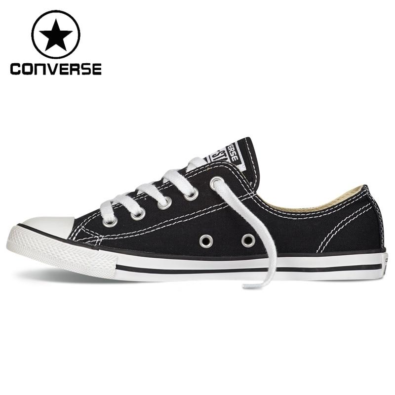 ФОТО Original New Arrival  Converse Dainty Women's Skateboarding Shoes Canvas Sneakers