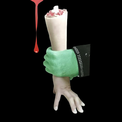 The Third Hand (fake hand) Stage Magic Trick,Funny,illusion,Party Magic show,Comedy,Creative Magic props,Gimmick реквизит для фокусов mr·rs magic genuine magic props the ghost