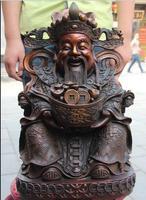 Chinese Folk myth Legend Copper Bronze twelve Chinese Zodiac Buddha God Statue