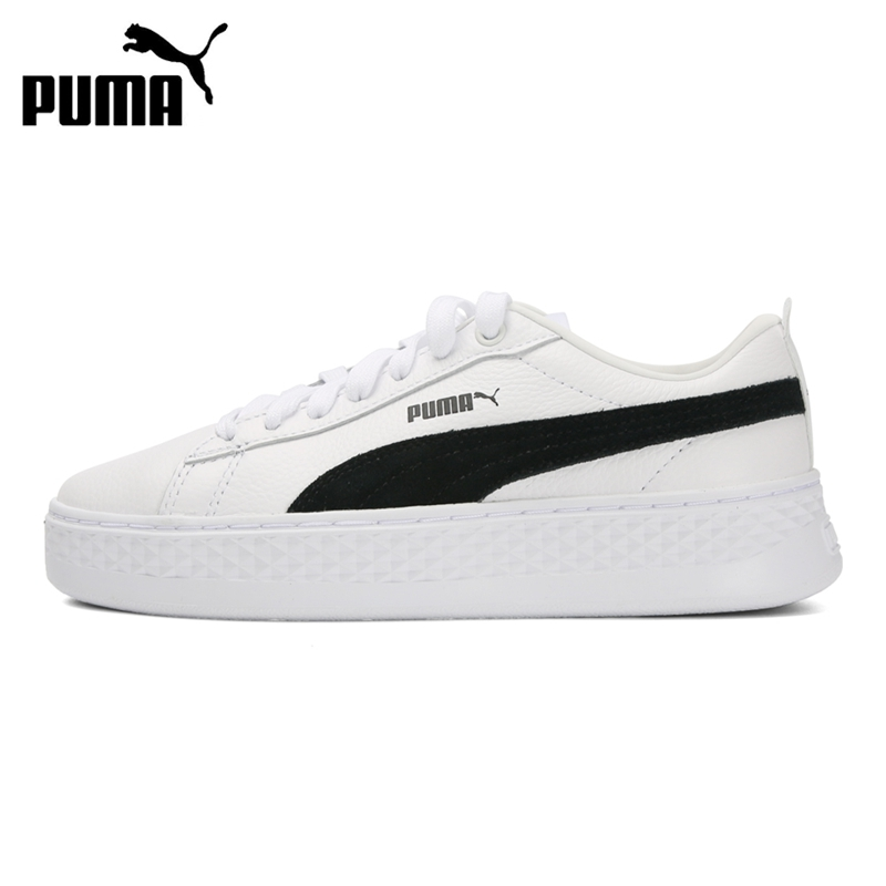 Original New Arrival 2019 PUMA Smash Platform L Women's  Skateboarding Shoes Sneakers