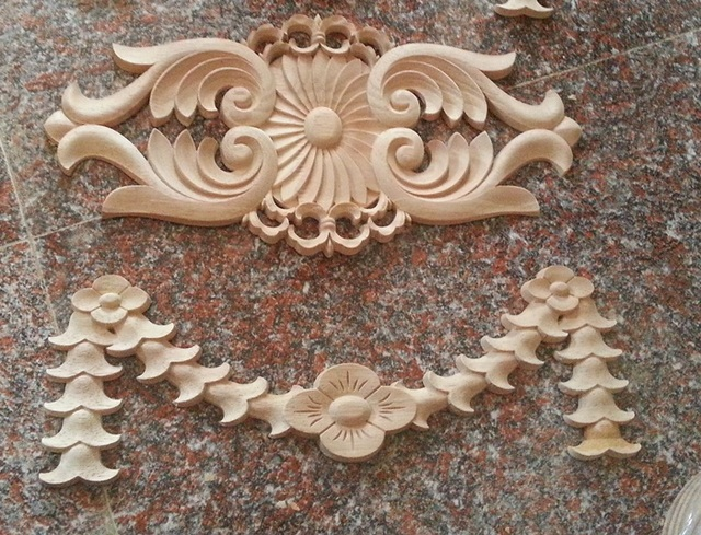 Wood carving customize dongyang wood carving antique wood applique