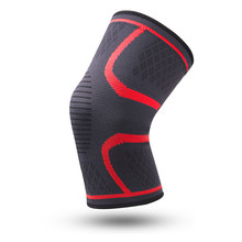 1 pc Nylon Silicone Non-Slip Elastic Sports Knee Pads Breathable Knee Support Running Fitness Hiking Riding Knee Pads Volleyball pressurized fitness running cycling knee support braces elastic nylon knee pads nylon silk sports protective gear knee pads back