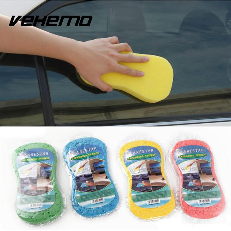 Compressed Auto Car Vehicle Home Magic Cleaning Wash Compression Sponge