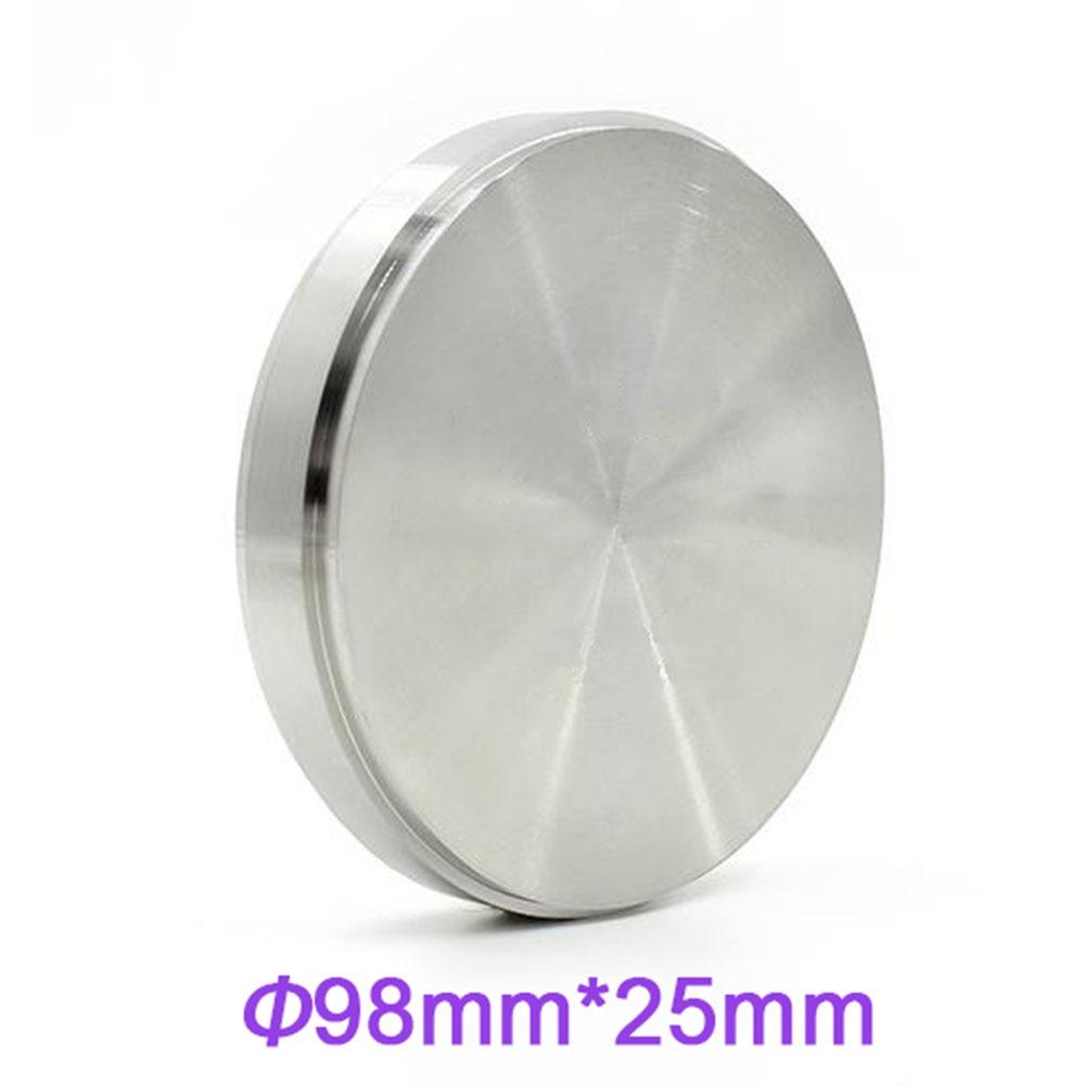 Grade 5 Titanium CAD/CAM Milling Machince Discs 98mm*25mmGrade 5 Titanium CAD/CAM Milling Machince Discs 98mm*25mm