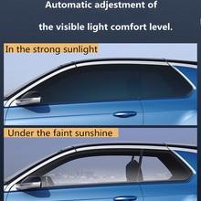 SUNICE Sputter película de tinte Solar película de Control Solar película de aislamiento térmico película fotocrómica VLT cambiado 73% ~ 43% Uso de verano para la construcción del coche