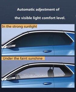 SUNICE Sputter Solar Tint Film Sun Control Film Heat Insulation Photochromic Film VLT Changed 73%~43% Car Building Summer Use(China)