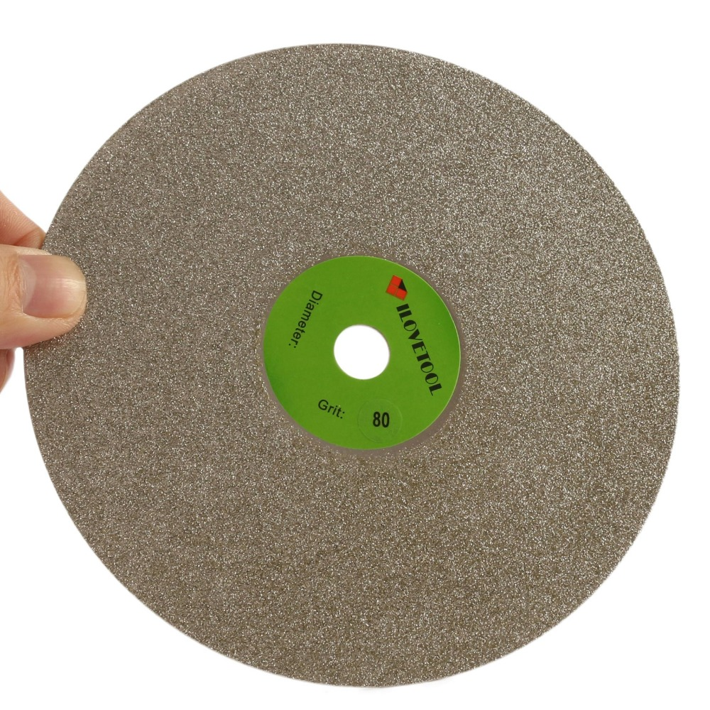 """6"""" inch Diamond Flat Lap Disk Grinding Disc Coated Wheel Grit 60-3000 Lapidary"""