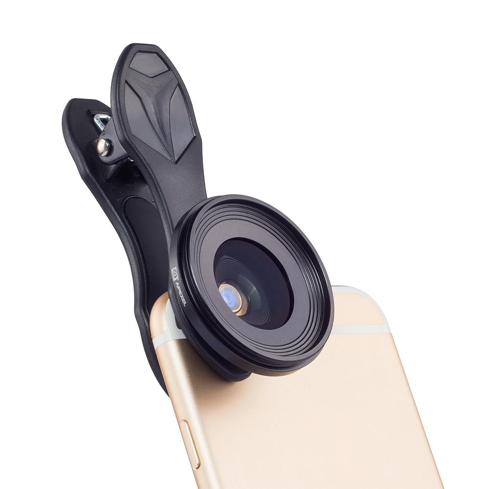 NIEUWE APEXEL Originele telefoon lens 25mm super macro lens met ster filter mobiele fotografie macro lente voor android ios smartphone