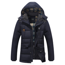 Men Winter Jacket Thick New Foreign Trade 2016 Men s Cotton Padded Jacket Coat Collar Thick