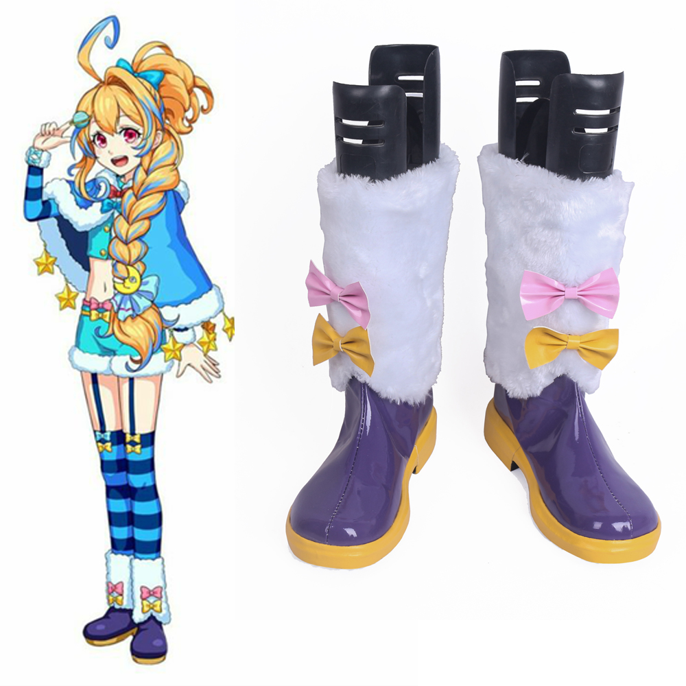 Monster Strike Nostradamus Cosplay Shoes Boots Halloween Carnival Party Cosplay Costume Accessories