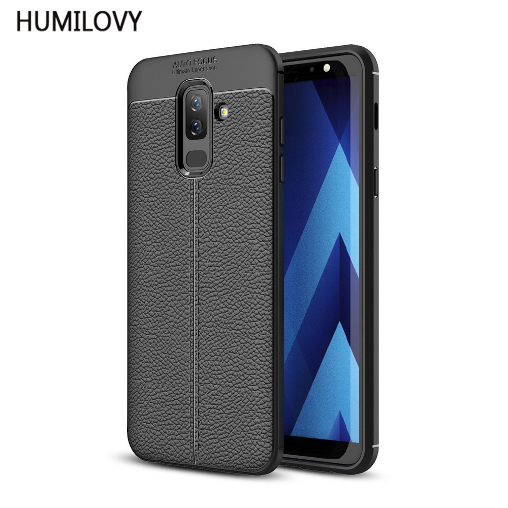 J8 2018 Slim Soft TPU Case for Samsung galaxy J8 2018 Leather Design Protective Back Cover for Samsung galaxy J8 2018 Phone Case