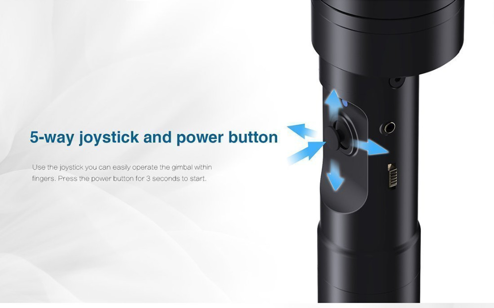 Zhiyun Gimbal jeřáb V2 3-osý přenosný ruční kardanový - Videokamery a fotoaparáty - Fotografie 2