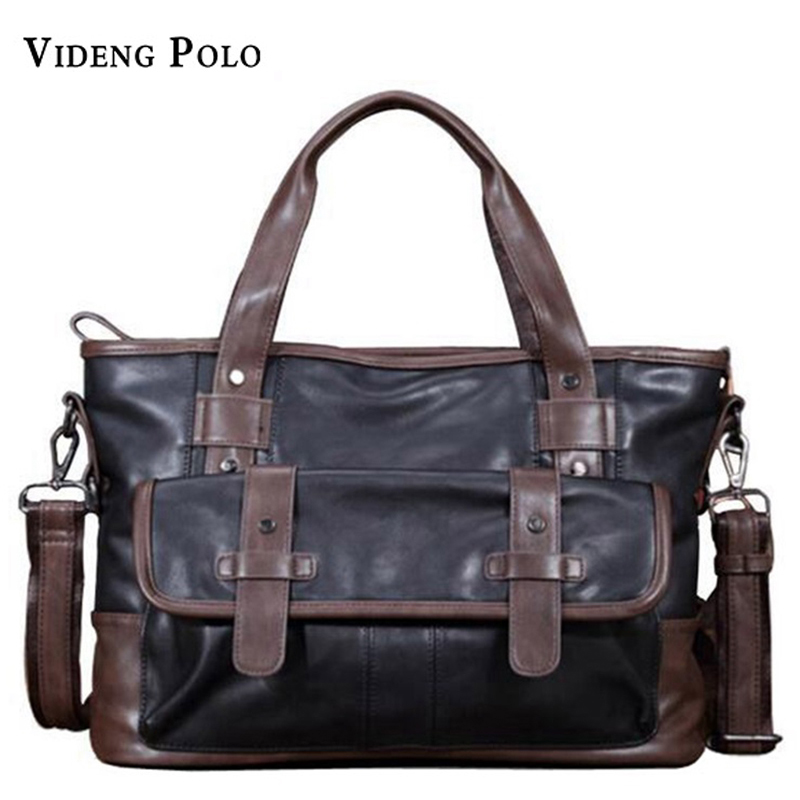 2017 New Men Casual Briefcase Business Shoulder Bag Leather Messenger Bags Computer Laptop Handbag Bag Men's Travel Bags neweekend men casual briefcase business shoulder bag leather messenger bags computer laptop handbag bag men s travel bags 2951